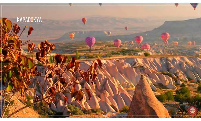 23 Nısan Özel Denızlı Çıkışlı Kapadokya Turu / 2 Gece Otel Konaklaması / 3 Gece 4 Gün