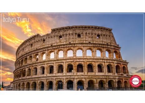 Baştan Başa İtalya Turu 11 - 15 Aralık Roma Floransa Milano Venedik